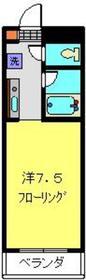 メゾンウィスタリアⅢ2階Fの間取り画像