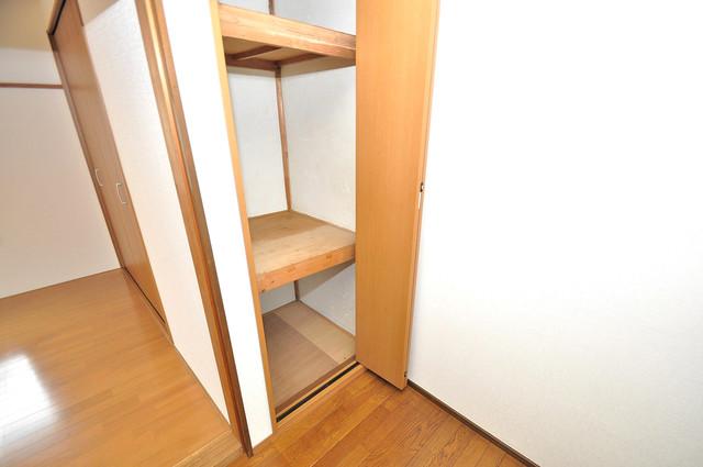 冨永コーポ 各所に収納があるので、お部屋がすっきり片付きますね。