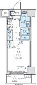 SS.Advance 横濱阪東橋ex6階Fの間取り画像