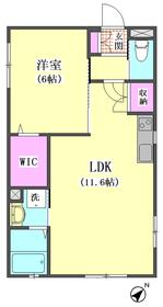 メゾンかしの木 301号室