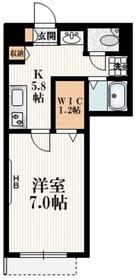 ストラッセ3階Fの間取り画像