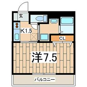 マ・メゾン大倉山1階Fの間取り画像