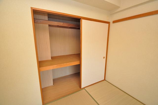 ソレアード三貴 もちろん収納スペースも確保。いたれりつくせりのお部屋です。