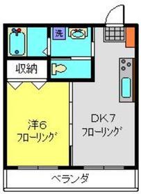 高田駅 徒歩16分3階Fの間取り画像