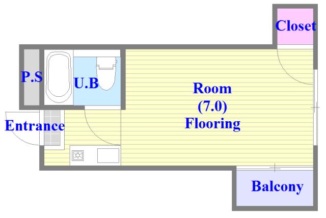 プレアール布施 シンプルな住み心地を実感できる素敵な間取りになってます。