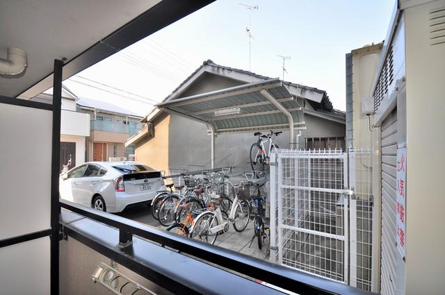 フィオレ源氏ケ丘 この見晴らしが日当たりのイイお部屋を作ってます。