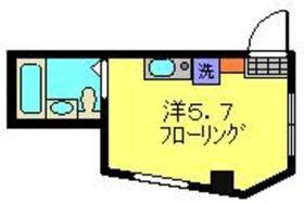 オクトメゾン桜木町3階Fの間取り画像