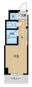 浅草橋駅 徒歩2分5 階Fの間取り画像