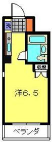 メゾン・ド・セヴェールパートⅢ1階Fの間取り画像