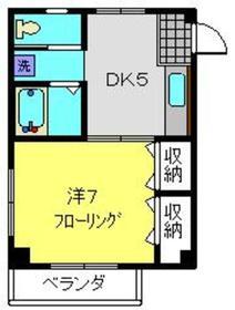 タイヨービル3階Fの間取り画像