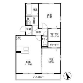 AXIS原宿五番館3階Fの間取り画像