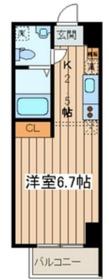 アフィーノ川崎3階Fの間取り画像