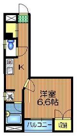 エクセル桃井2階Fの間取り画像