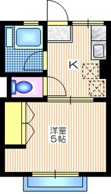 港南台駅 徒歩21分2階Fの間取り画像