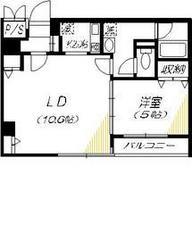 YAMASHITA 814階Fの間取り画像
