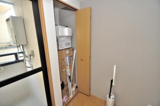 ピア小阪 もちろん収納スペースも確保。いたれりつくせりのお部屋です。