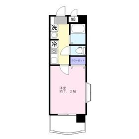 ベラヴィスタ7階Fの間取り画像