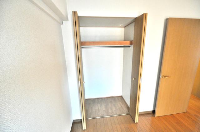 コレンテ もちろん収納スペースも確保。おかげでお部屋の中がスッキリ。