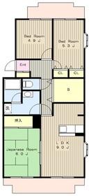 町田駅 徒歩15分2階Fの間取り画像