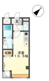 北仙台駅 徒歩12分4階Fの間取り画像
