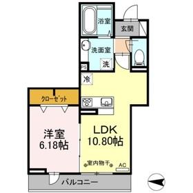 ソフィアハイツ3階Fの間取り画像