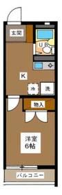 クリスタル和幸2階Fの間取り画像