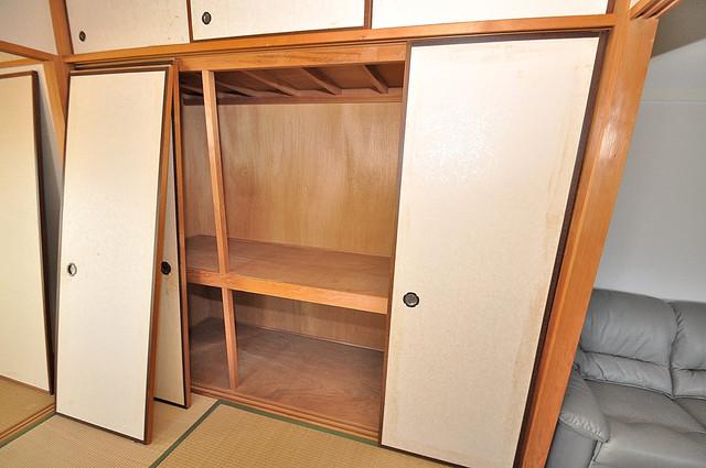 プレジデント楠 もちろん収納スペースも確保。いたれりつくせりのお部屋です。