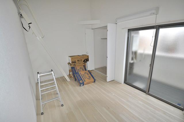 ForRealize友井 明るいお部屋は風通しも良く、心地よい気分になります。