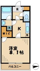 グランディール21階Fの間取り画像
