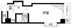 日神パレス高井戸5階Fの間取り画像