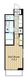 メゾン・ボナール3階Fの間取り画像