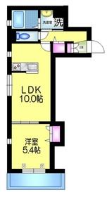 L'ESPOIR レスポワール2階Fの間取り画像