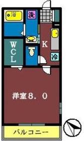 カナデ(鷺沼台)1階Fの間取り画像