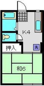 大倉山駅 徒歩7分1階Fの間取り画像