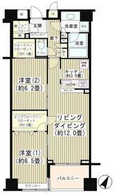 KDXレジデンス日本橋水天宮9階Fの間取り画像