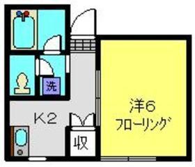クリエール南太田1階Fの間取り画像