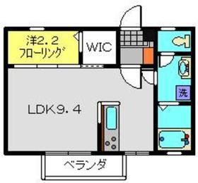 サンマーチ1階Fの間取り画像