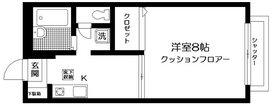 サニーフォレスト1階Fの間取り画像