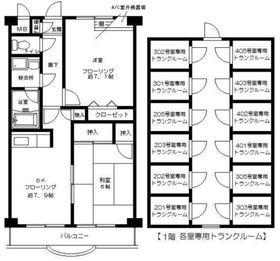 武蔵中原駅 徒歩10分4階Fの間取り画像