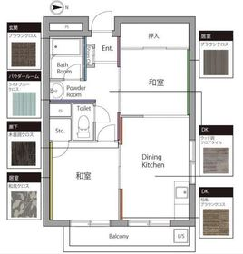 佐々木第一マンション1階Fの間取り画像