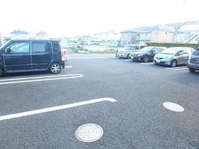プラシードK駐車場