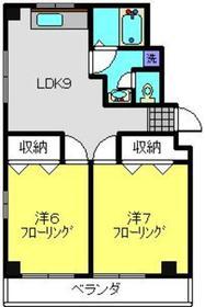 エルム日吉3階Fの間取り画像