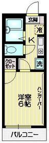 エム・メタセコ1階Fの間取り画像