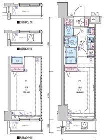 ジェノヴィア世田谷桜丘スカイガーデン6階Fの間取り画像