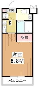 パインバンフソノ3階Fの間取り画像