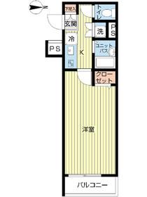 スカイコート練馬桜台3階Fの間取り画像