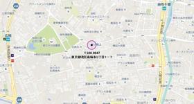 六本木駅 徒歩12分案内図