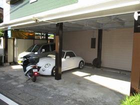 ファミールタガワD駐車場