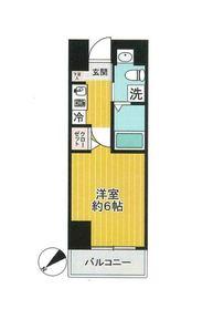 グリフィン横浜・桜木町2階Fの間取り画像