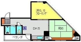 リーベオリサカ3階Fの間取り画像